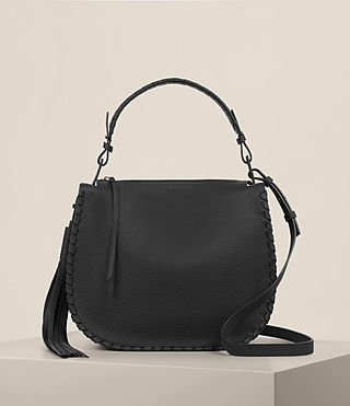 Donne Mori Hobo Bag (Black)
