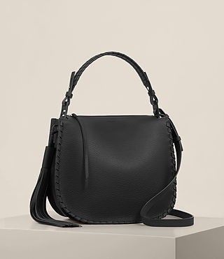 Womens Mori Hobo Bag (Black) - product_image_alt_text_6