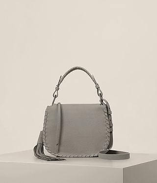 Donne Mori Lea Crossbody (Oyster Grey)