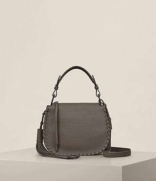 Womens Mori Lea Crossbody (MINK GREY) - product_image_alt_text_1