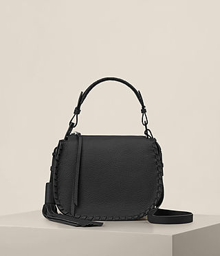Donne Mori Lea Crossbody (Black) -