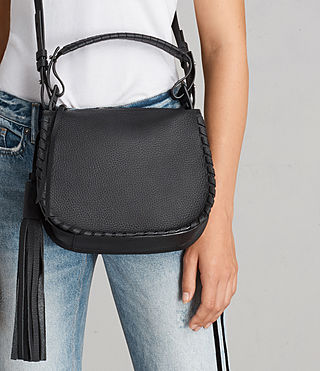 Womens Mori Crossbody Bag (Black) - Image 2