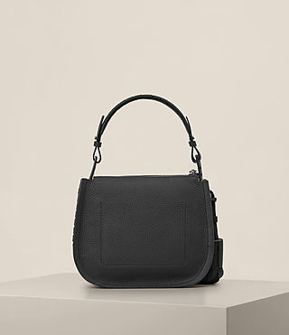 Womens Mori Crossbody Bag (Black) - Image 7