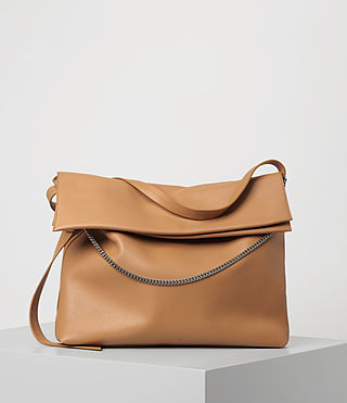 Womens Lafayette Large Shoulder Bag (LIGHT CARAMEL) - product_image_alt_text_1