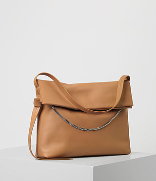 Womens Lafayette Large Shoulder Bag (LIGHT CARAMEL) - product_image_alt_text_3