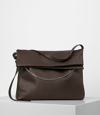Femmes Lafayette Large Shoulder Bag (PRUNE)
