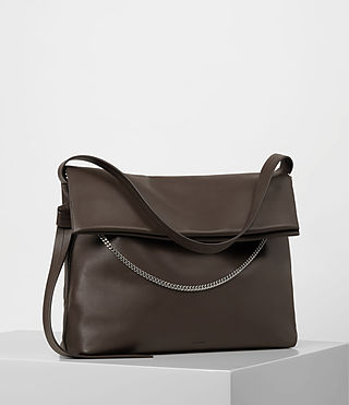 Damen Lafayette Large Shoulder Bag (PRUNE) - product_image_alt_text_3