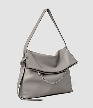Damen Lafayette Large Shoulder Bag (Mid Grey) - product_image_alt_text_2