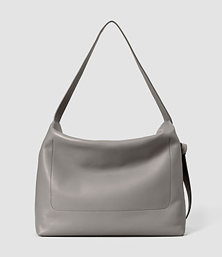Damen Lafayette Large Shoulder Bag (Mid Grey) - product_image_alt_text_3