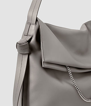 Damen Lafayette Large Shoulder Bag (Mid Grey) - product_image_alt_text_4