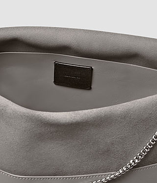 Damen Lafayette Large Shoulder Bag (Mid Grey) - product_image_alt_text_5