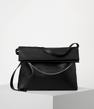 Womens Lafayette Large Shoulder Bag (Black)