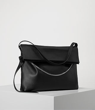 Womens Lafayette Large Shoulder Bag (Black) - product_image_alt_text_3