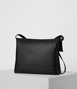 Womens Lafayette Large Shoulder Bag (Black) - product_image_alt_text_6