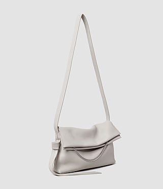 Womens Lafayette Medium Shoulder Bag (Light Grey) - product_image_alt_text_2