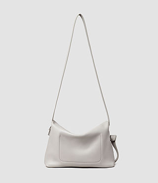 Womens Lafayette Medium Shoulder Bag (Light Grey) - product_image_alt_text_3
