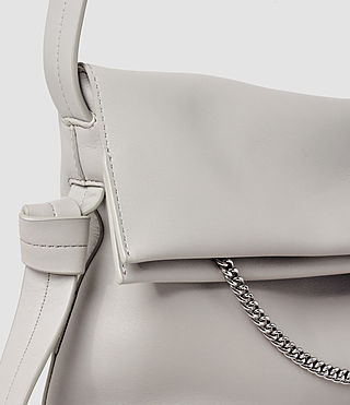 Womens Lafayette Medium Shoulder Bag (Light Grey) - product_image_alt_text_4