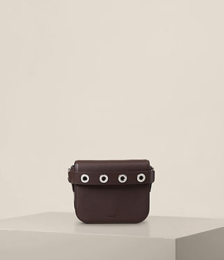 Womens Ikuya Clutch (PRUNE) - product_image_alt_text_1
