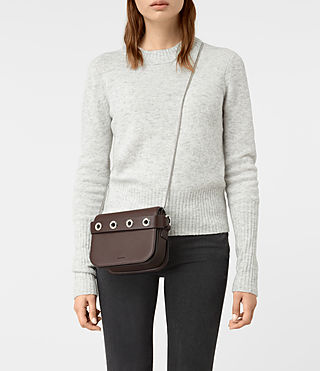 Women's Ikuya Clutch (PRUNE) - product_image_alt_text_2