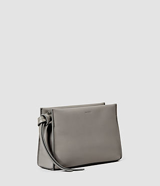Womens Lafayette Clutch (Mid Grey) - product_image_alt_text_2