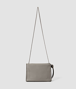 Womens Lafayette Clutch (Mid Grey) - product_image_alt_text_3