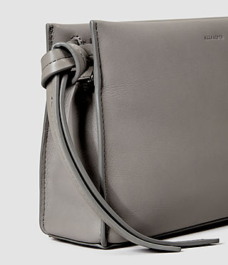 Womens Lafayette Clutch (Mid Grey) - product_image_alt_text_4