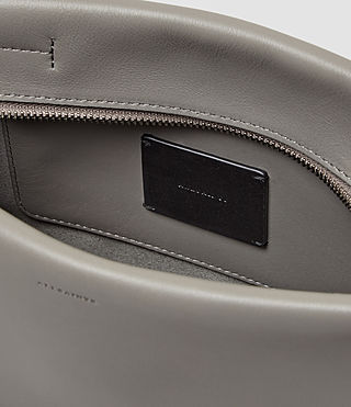 Womens Lafayette Clutch (Mid Grey) - product_image_alt_text_5