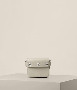 Womens Ikuya Small Clutch (STONE WHITE)
