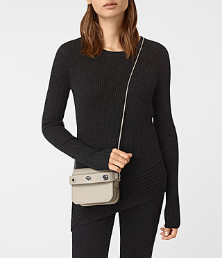 Mujer Clutch pequeño Ikuya (STONE WHITE) - product_image_alt_text_2