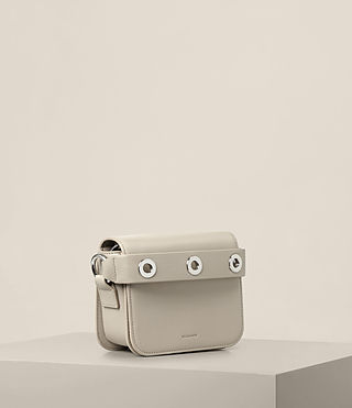 Womens Ikuya Small Clutch (STONE WHITE) - product_image_alt_text_4