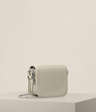 Womens Ikuya Small Clutch (STONE WHITE) - product_image_alt_text_6