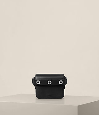 Womens Ikuya Small Clutch (Black) - product_image_alt_text_1