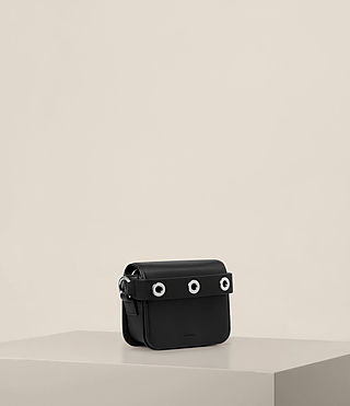 Womens Ikuya Small Clutch (Black) - product_image_alt_text_4