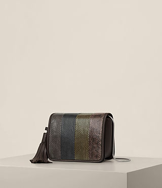 Mujer Bansho Shoulder Bag (EBONY BROWN) - product_image_alt_text_3