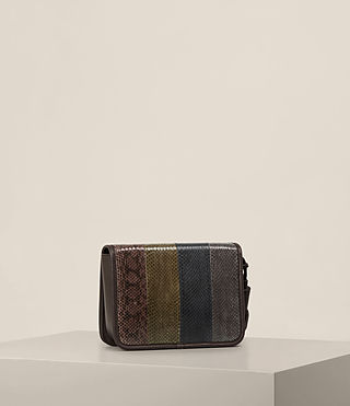 Mujer Bansho Shoulder Bag (EBONY BROWN) - product_image_alt_text_5