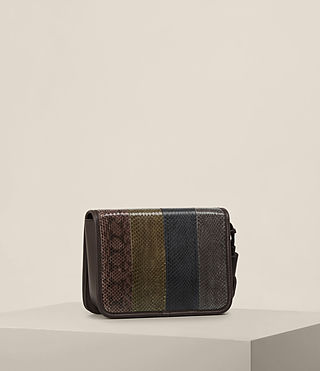 Mujer Bansho Shoulder Bag (EBONY BROWN) - product_image_alt_text_6