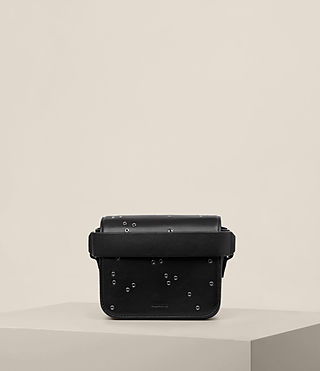 Womens Junai Small Clutch (Black)