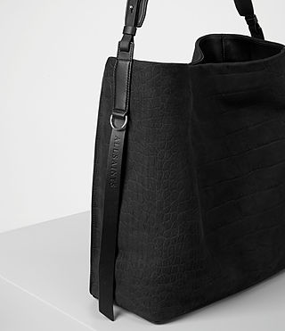Womens Paradise North/South Tote (Black) - product_image_alt_text_3