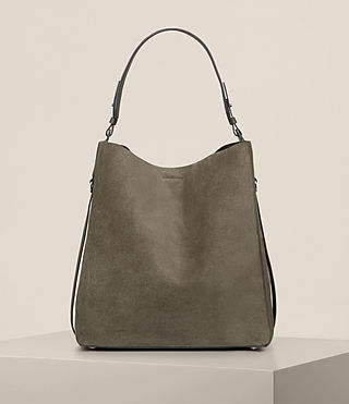 Women's Paradise North South Tote (MINK GREY) -