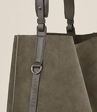 Women's Paradise North South Tote (MINK GREY) - Image 4