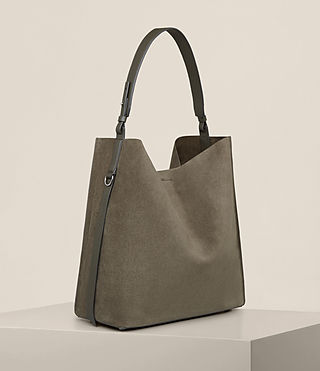 Women's Paradise North South Tote (MINK GREY) - product_image_alt_text_6