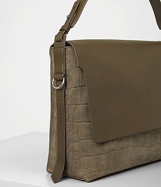 Donne Paradise Satchel Bag (Dark Khaki Green) - product_image_alt_text_2