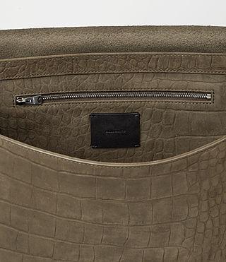 Donne Paradise Satchel Bag (Dark Khaki Green) - product_image_alt_text_4