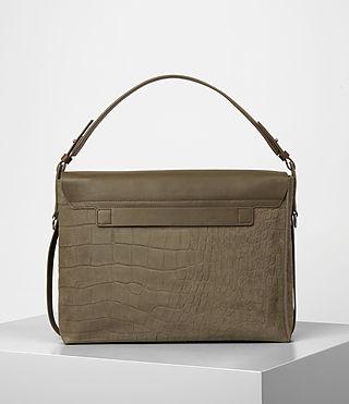 Donne Paradise Satchel Bag (Dark Khaki Green) - product_image_alt_text_5