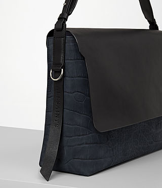 Mujer Paradise Satchel Bag (PETROL BLUE/BLACK) - product_image_alt_text_2