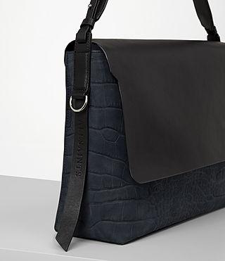 Womens Paradise Satchel Bag (PETROL BLUE/BLACK) - product_image_alt_text_2