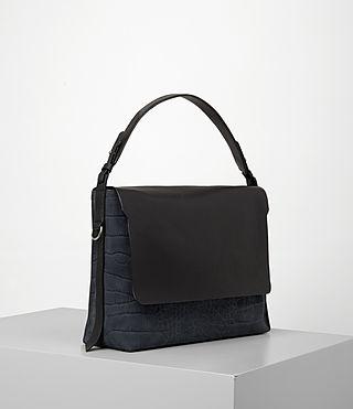 Donne Paradise Satchel Bag (PETROL BLUE/BLACK) - product_image_alt_text_3