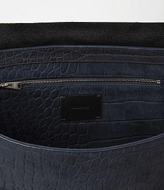 Donne Paradise Satchel Bag (PETROL BLUE/BLACK) - product_image_alt_text_4