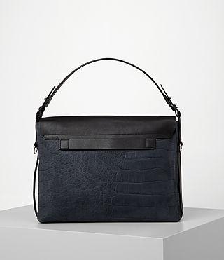 Donne Paradise Satchel Bag (PETROL BLUE/BLACK) - product_image_alt_text_5