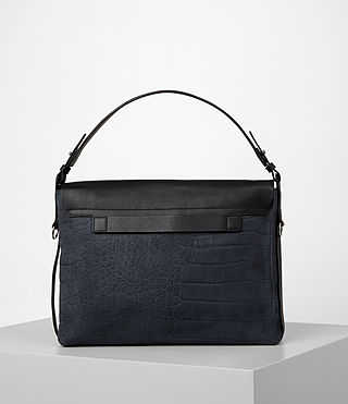 Womens Paradise Satchel Bag (PETROL BLUE/BLACK) - product_image_alt_text_5